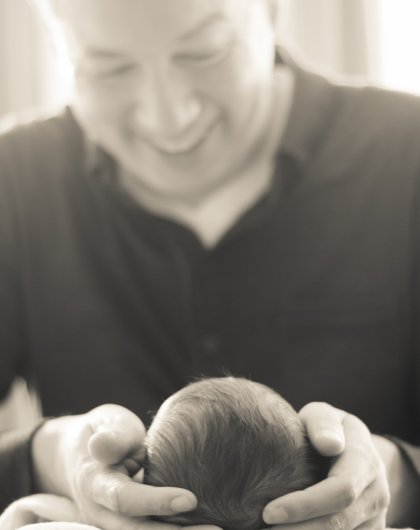 Dad - New Born photography